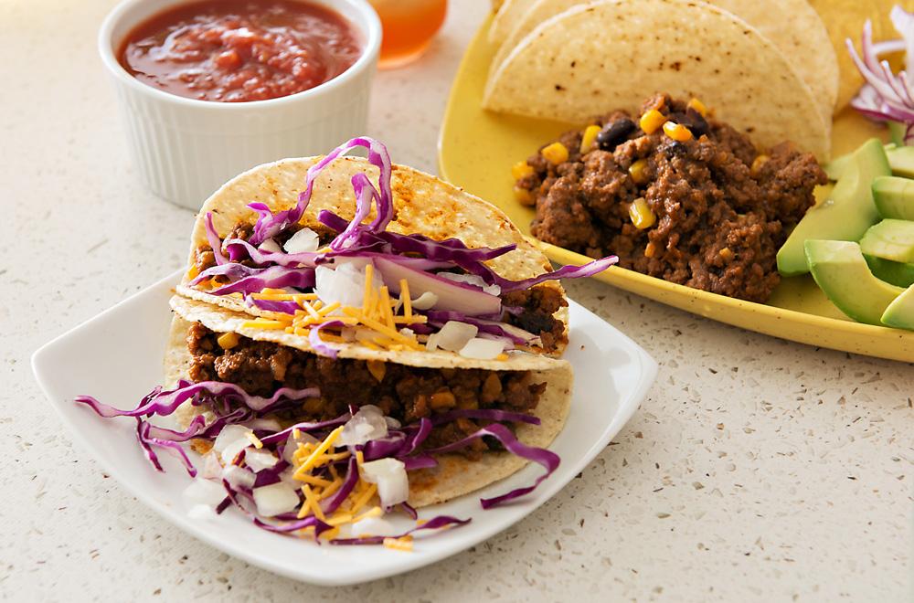 Lonestar Beef Tacos